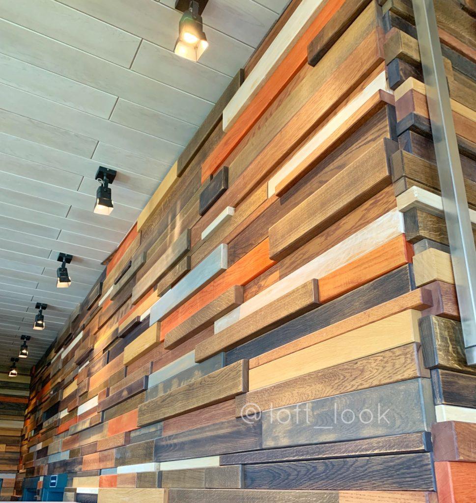 Стеновые панели из натурального дерева в интерьере