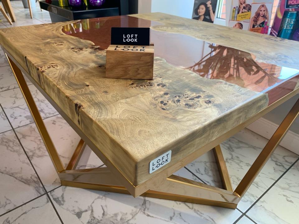 журнальный стол лофт