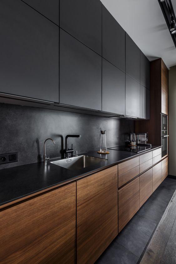 кухня лофт-оформление