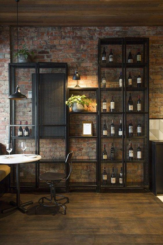 мебель в стиле лофт из металла