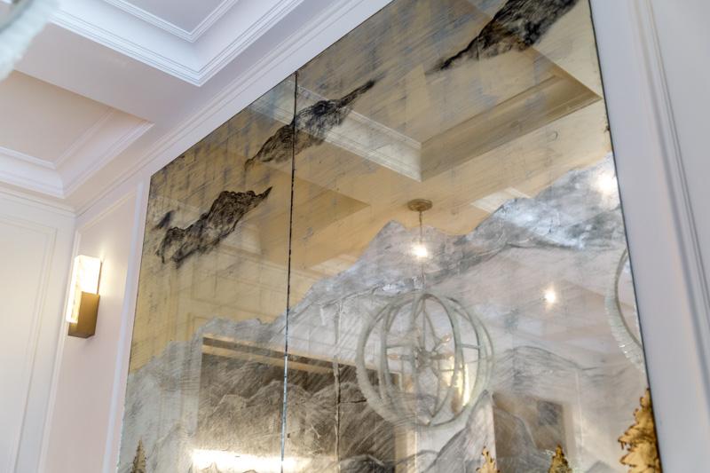 Зеркала в стиле лофт в интерьере: 60 фото