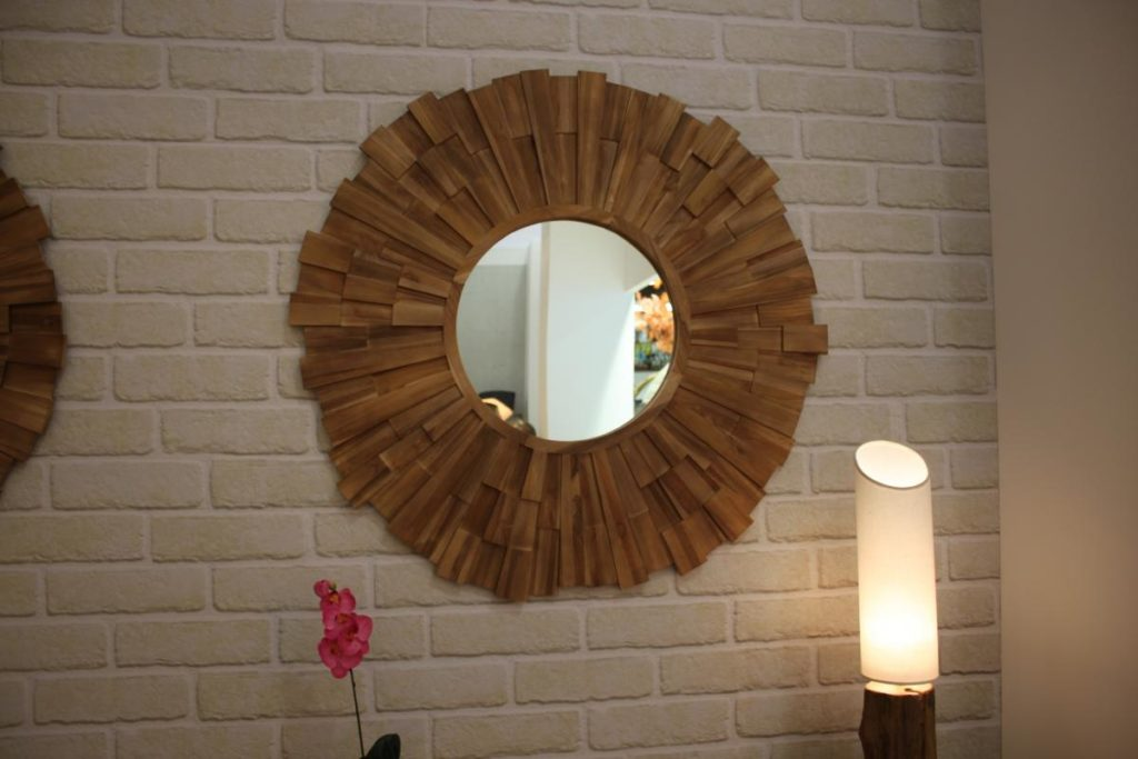 зеркала лофт в интерьере