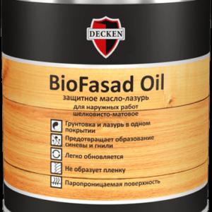 Масло-лазурь Decken BIOFASAD OIL
