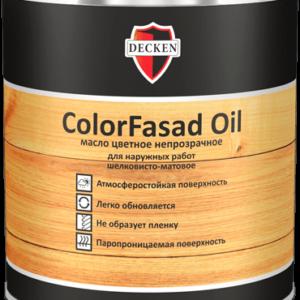 Цветное масло для дерева Decken COLORFASAD OIL