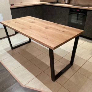 Стол из массива дуба на кухню